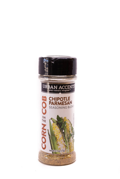 Urban Accents: Chipotle Parmesan Corn on the Cob Seasoning