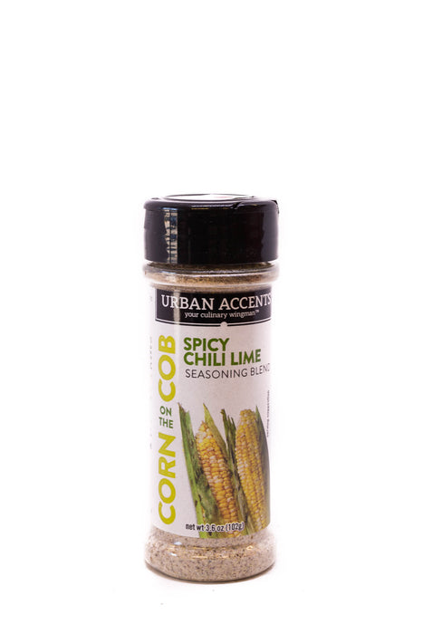 Urban Accents: Spicy Chili Lime Corn on the Cob Seasoning
