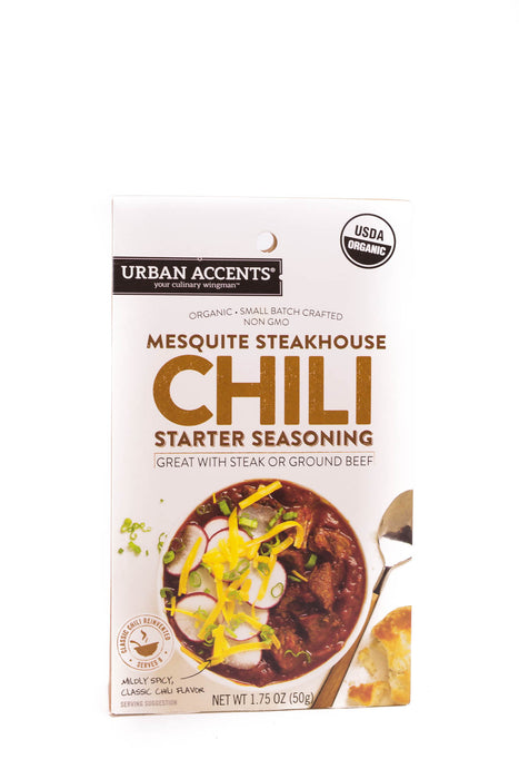 Urban Accents: Mesquite Steakhouse Chili Starter Seasoning