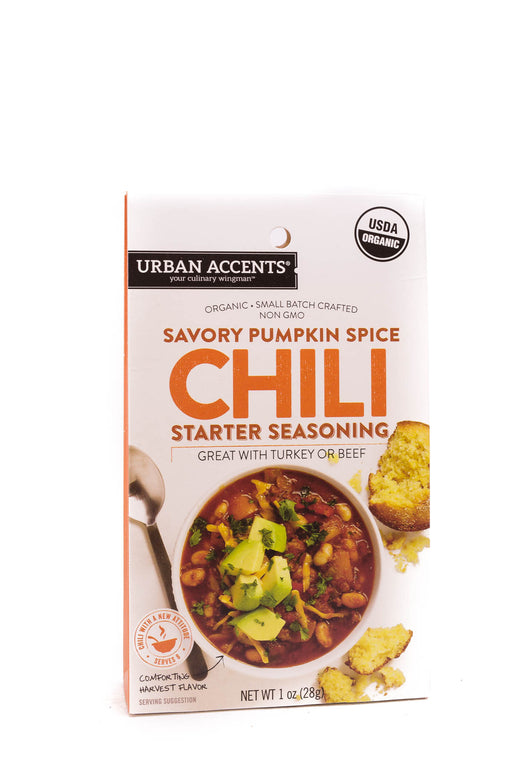 Urban Accents: Savory Pumpkin Spice Chili Starter Seasoning
