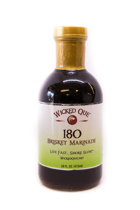 Wicked Que: 180 Brisket Marinade