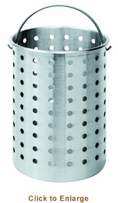 Bayou Classic 30 qt. Perforated Basket 819074