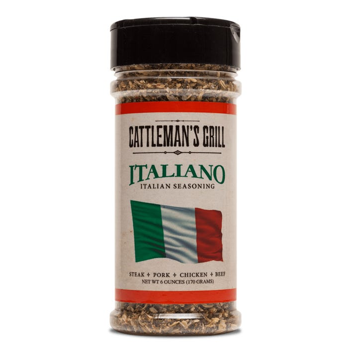 Cattleman's Grill Italiano Seasoning, 6oz.