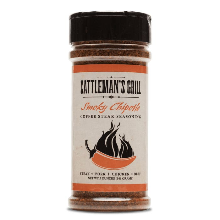 Cattleman's Grill Original Smoky Chipotle Coffee Steak Rub
