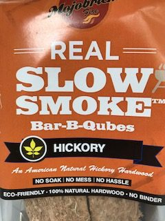 Mojobricks Bar-B-Qubes Hickory (medium size)