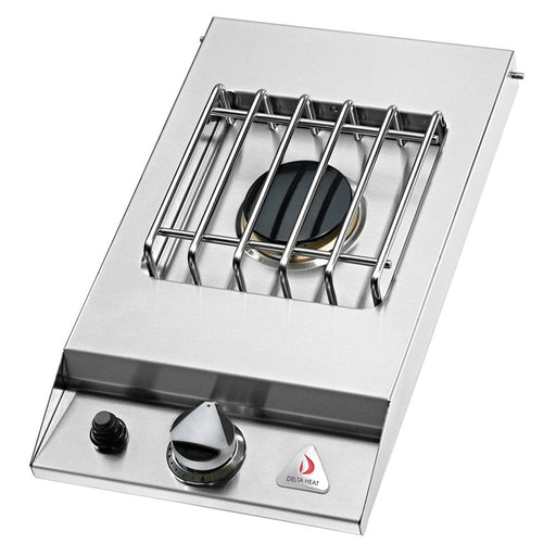 Delta Heat Single Side Burner, Drop In (NG)