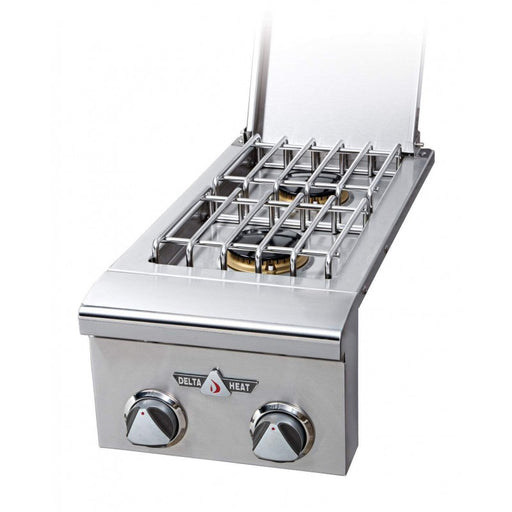 Delta Heat Double Side Burner, (NG)