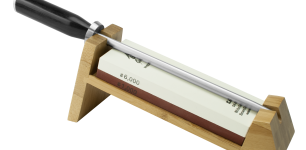 Shun 3-Piece Whetstone Sharpening System w/ Honing Steel