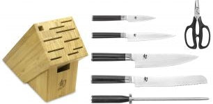 Shun Classic 7-Piece Essential Block Set