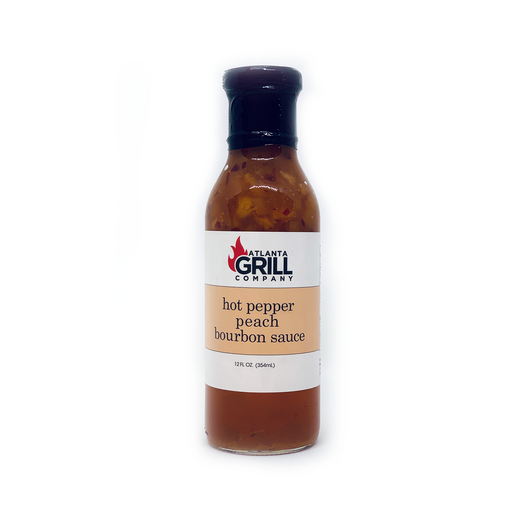 Atlanta Grill Company: Hot Pepper Peach Bourbon Sauce
