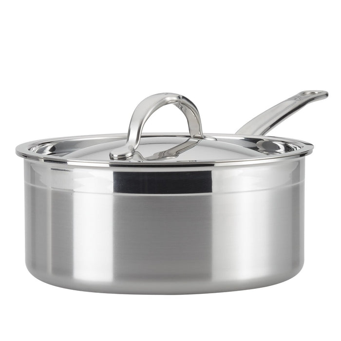 Hestan ProBond Forged Stainless Steel Saucepan