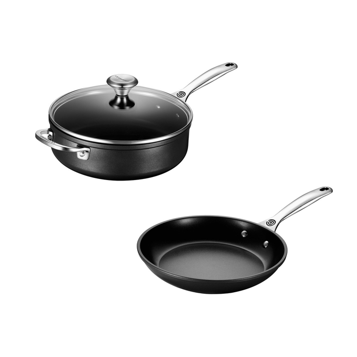 Le Creuset 3-Piece Toughened Nonstick PRO Set