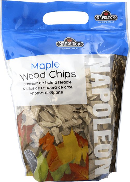 Napoleon Maple Wood Chips - 2 lbs