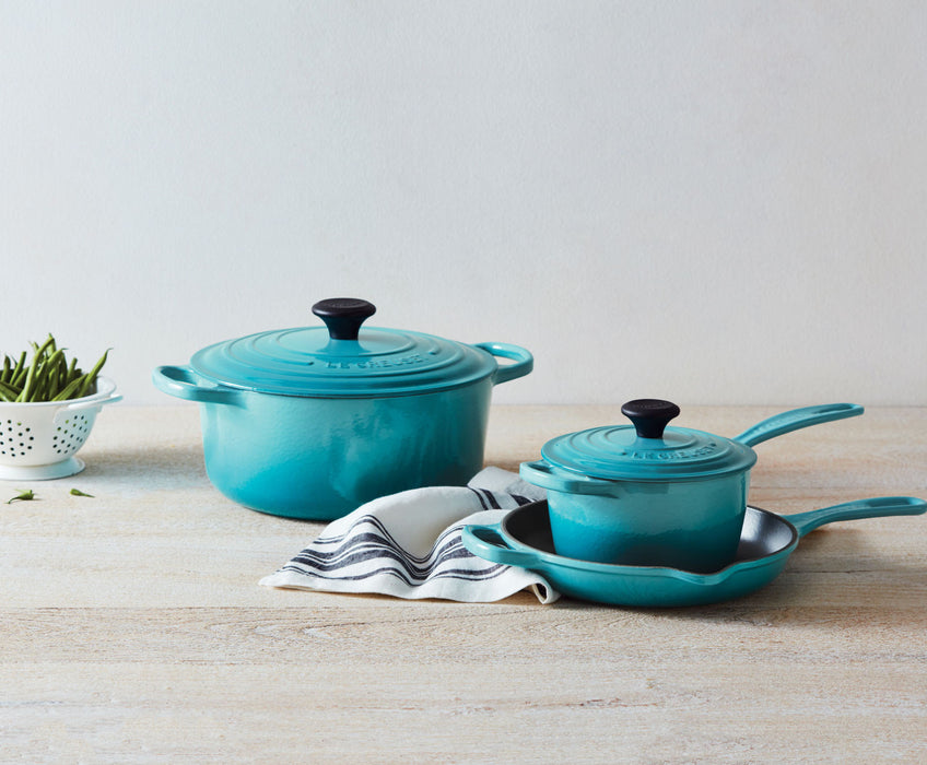 Le Creuset 5-Piece Signature Cast Iron Set