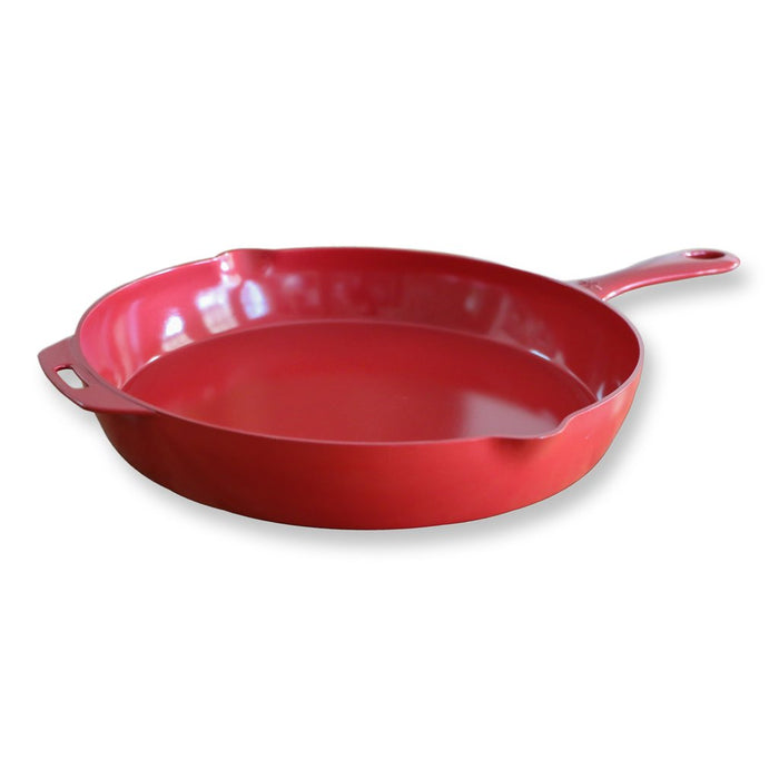 "ANYWARE™ Classic 12"" Ceramic Skillet - Red"