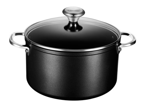 Le Creuset Toughened Nonstick PRO Stockpot w/Glass Lid 6 1/3 qt.