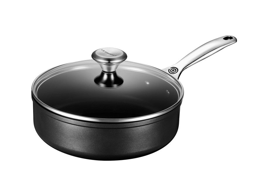 Le Creuset Toughened Nonstick PRO Sauté Pan w/Glass Lid