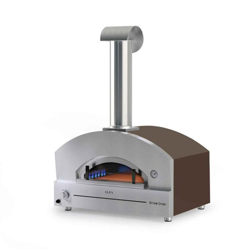 Alfa FXSTONE-M 27-Inch Countertop Wood Fired Pizza Oven
