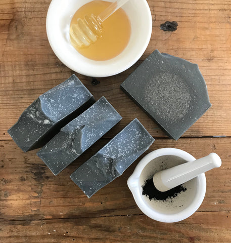 Charcoal & Honey Goat Milk Soap