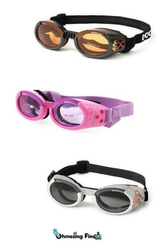 Doggles - ILS2 Pink Frame with Flowers Lilac Lens – uhmazingfinds 075b270600