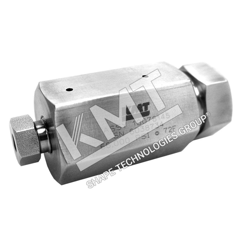 Coupling Assembly, Reducing, HP, Female to Female, 60K