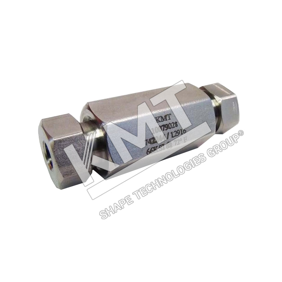 Coupling Assembly, HP, Female to Female, 60K