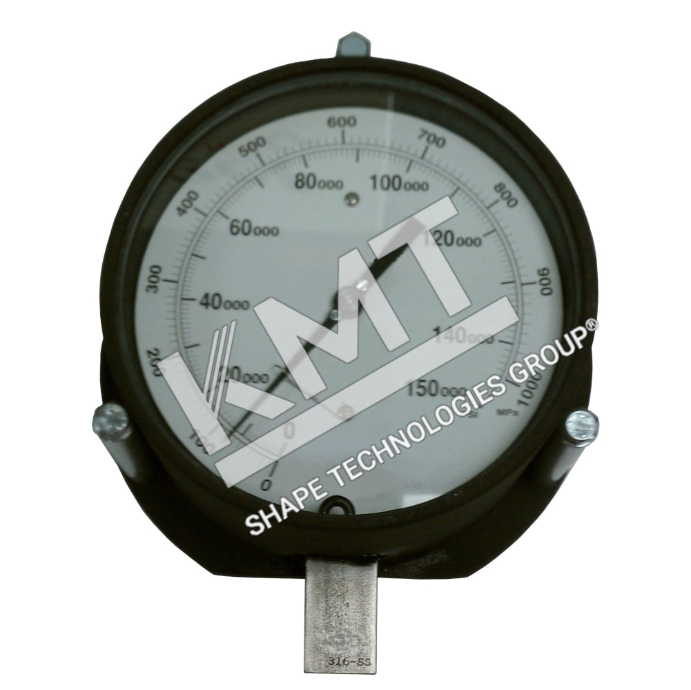 Gauge, UHP Water, 0-150,000 PSI, 90K