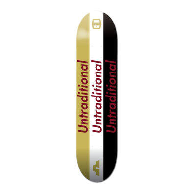 SKATEBOARD DECK: UNTRADITIONAL