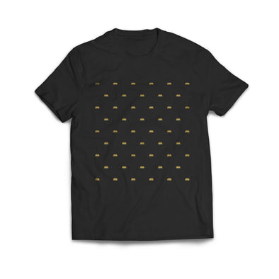 POLKA BARS TEE (Black)