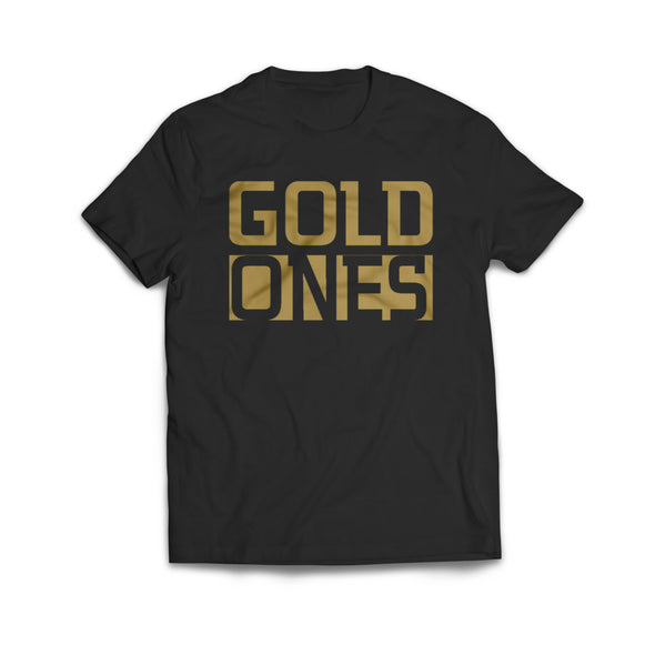GOLD ONES TEE (Black)