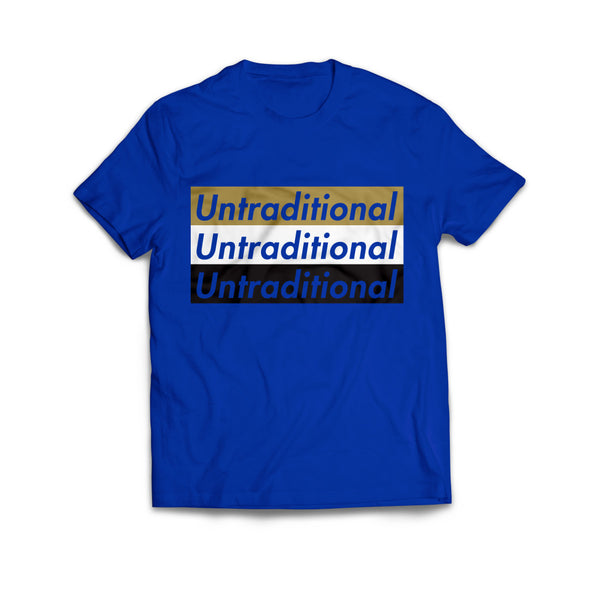 UNTRADITIONAL TEE (Royal Blue)