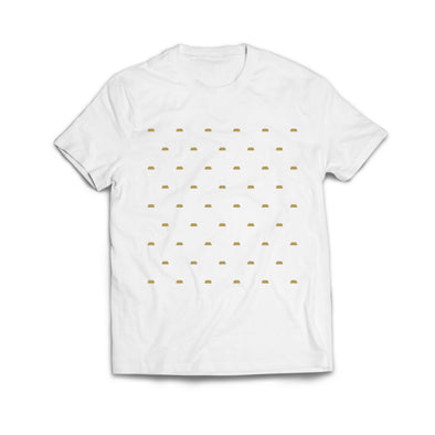 POLKA BARS TEE (White)