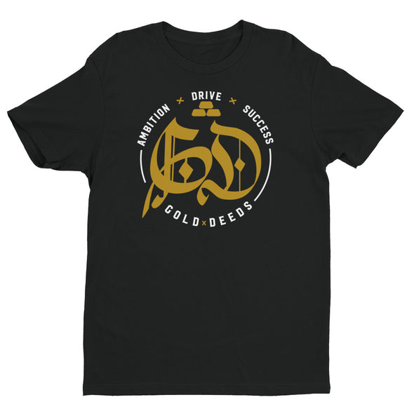OLD ENGLISH BADGE TEE (BLACK)