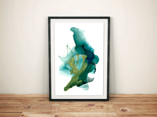 Blue Alcohol Ink Printable
