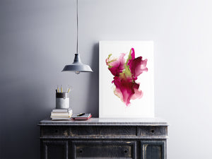 Pink Alcohol Ink Printable