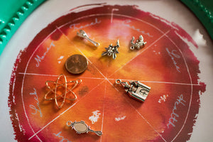 Charm Casting Divination Board Printable