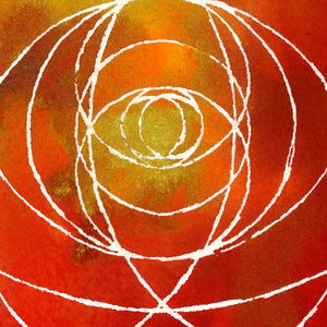 Red Vesica Pisces