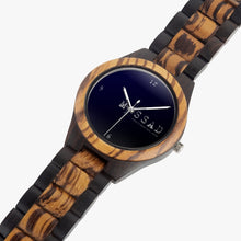 Intelligence With Style - Indian Ebony Wooden Watch