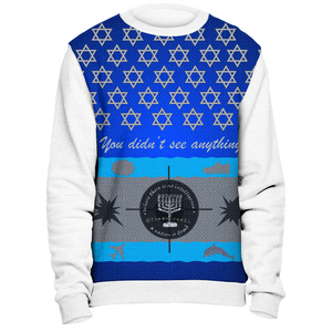 TheMossadIL Ugly Sweater - White