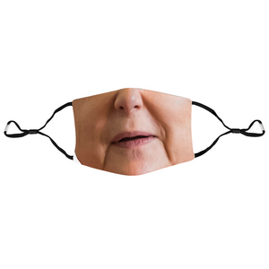 Angela Merkel Face Mouth Mask