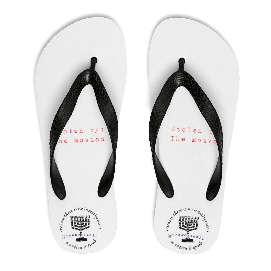 The Mossad Stole My Flip-Flops