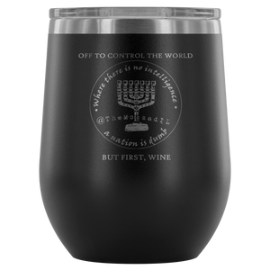 The Mossad's Wine Tumbler