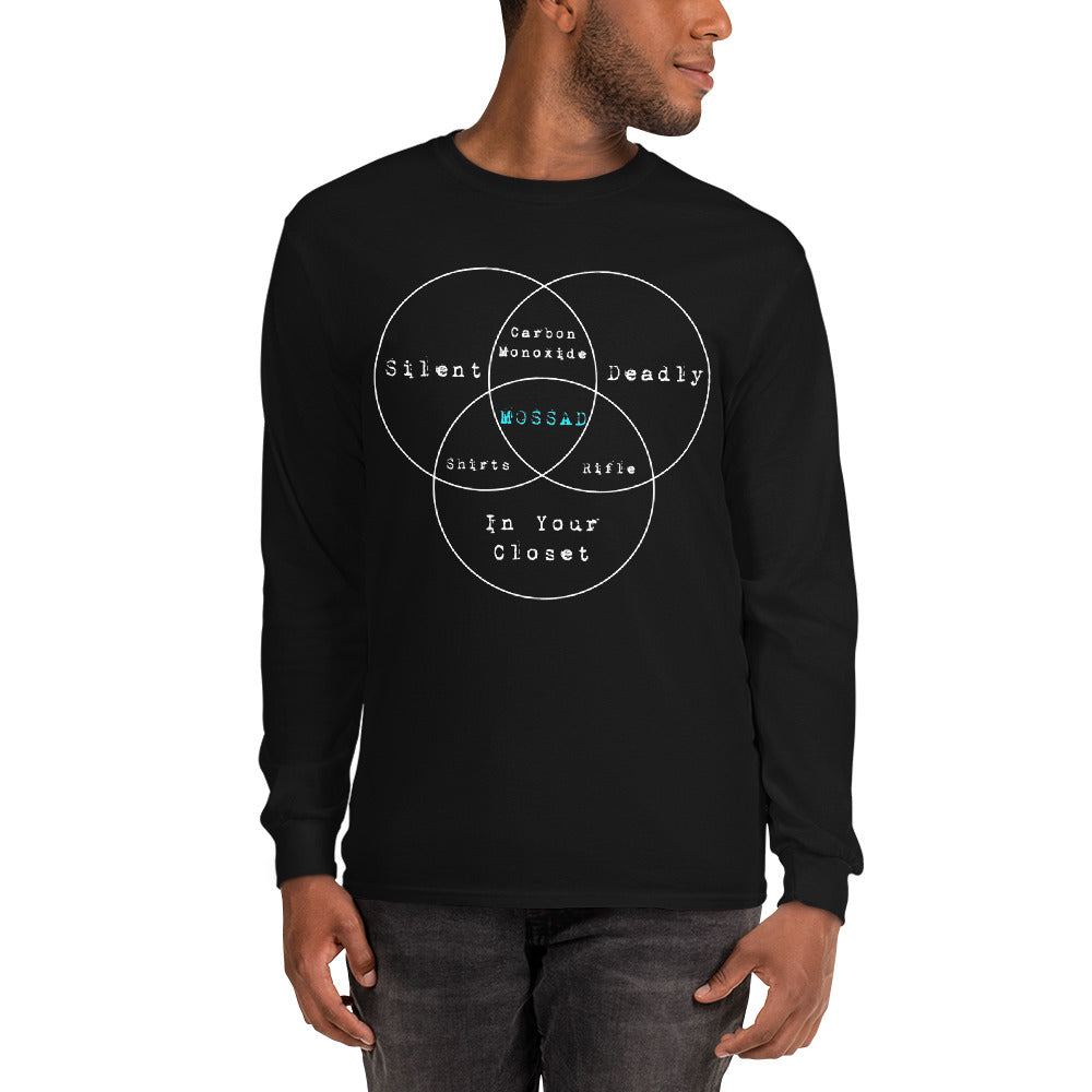The Mossad Venn Diagram - Long Sleeve T-Shirt
