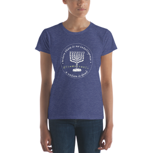 TheMossadIL Logo Women's short sleeve t-shirt