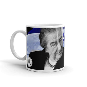 "Golda Meir ""Thank God We're Efficient"" Mug"