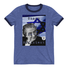 "Golda Meir ""Thank God We're Efficient"" Ringer T-Shirt"
