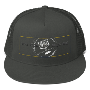 """You Didn't See Anything"" TheMossadIL Mesh Back Snapback"
