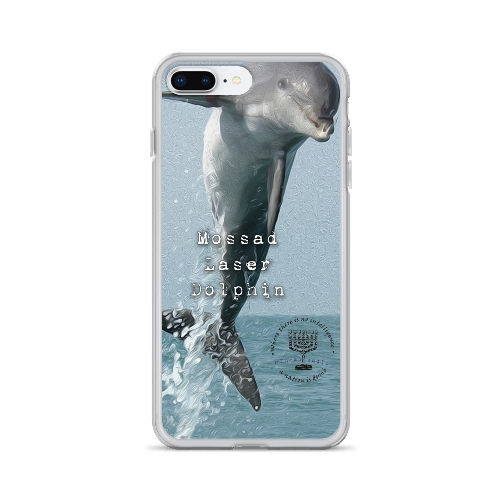 Mossad Laser Dolphin iPhone Case