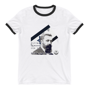 "Theodor Herzl ""Willed It. Dreamed It."" Ringer T-Shirt"