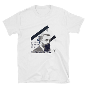 "Theodor Herzl ""Willed It. Dreamed It."" Short-Sleeve Unisex T-Shirt"